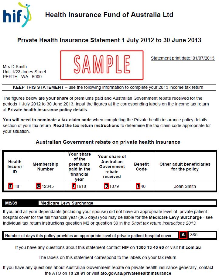 Health Insurance Statement Newhairstylesformen2014 Com