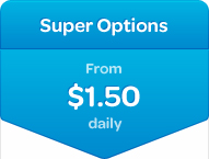 HIF Super Options Extras cover - From $1.50 daily