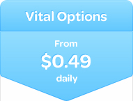 HIF Vital Options Extras cover - From $0.49 daily