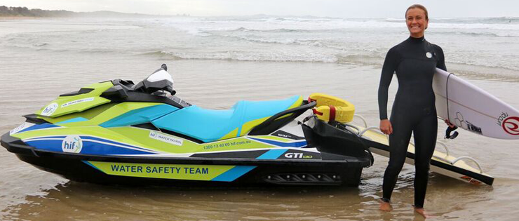 New Jet Ski Will Help Keep NSW Surfers Safer