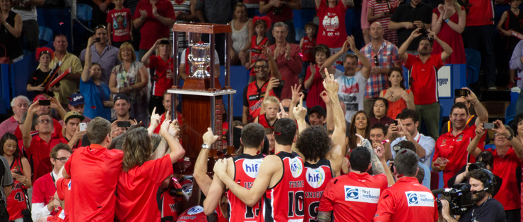 Perth Wildcats are the NBL Champions for 2013-14