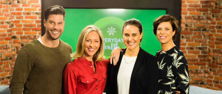 HIF announces partnership with new Network Ten show, Everyday Health.