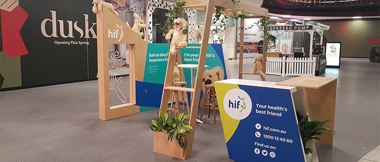 HIF opens first kiosk at Ellenbrook Shopping Centre