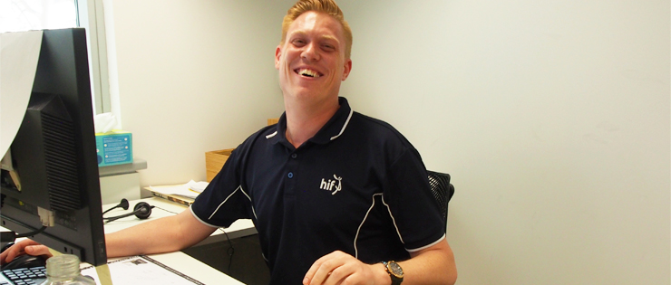 Meet Jason, one of our Customer Experience Team Leaders