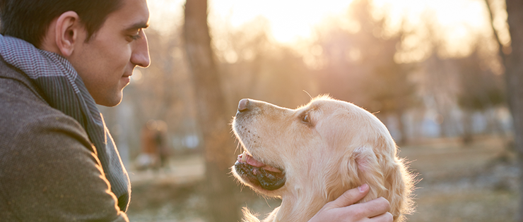 Feeling anxious? Talk to your pet, they know exactly how to help.