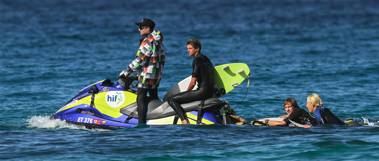 HIF Donates Jet-ski to WA Surfers and Extends Partnership Across Nation