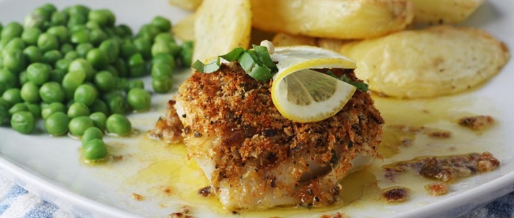 Healthier fish and chips for Tasty fish recipes