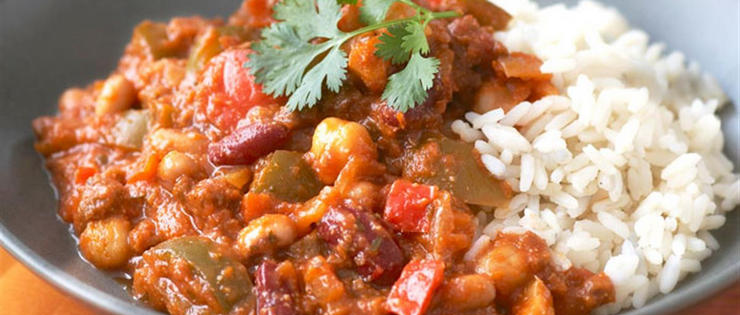 Winter Vegetable Chilli